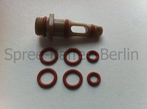 SKB Dichtungs-Set Auslaufventil/Supportventil geeignet für Saeco / Spidem Kaffeevollautomaten -Set 56-