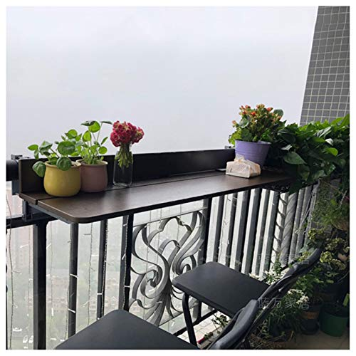 tavolino da balcone muro Tavolo D'attaccatura Pieghevole Ringhiera