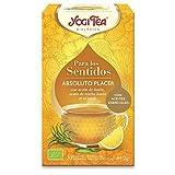 Yogi Tea Infusion para Los Sentidos Absoluto Placer Bio, Bolsitas con Té Verde 80 g