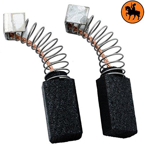 Buildalot Specialty koolborstels ca-07-48192 voor AEG boormachine SB2-5x8x14mm - met veren, kabel en stekker - vervanging voor originele onderdelen 4.931.306.842