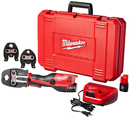 "Milwaukee 2473-22 M12 Force Logic Press tool 1/2"" - 1"" Kit"