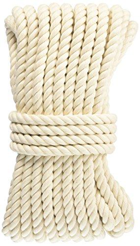 ユタカメイク 綿ロープ(3ツ打) 8mm×10m A-210
