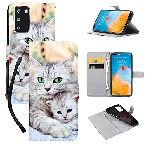 Yoedge Funda Compatible con Huawei P Smart 2019 6.21 Pulgadas, Carcasa Billetera...