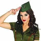 NET TOYS Calot Militaire Couvre-Chef armée Chapeau Soldat Casquette Militaire Femme...