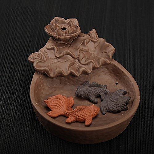 NewEGG Two Fishes Ceramic Empty