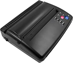 BMX Black Tattoo Transfer Stencil Machine Thermal Copier for Printing and Transferring The Tattoo Designs Picture onto The Skin of The Person Getting The Tattoo,Gift for 10PCS Transfer Paper