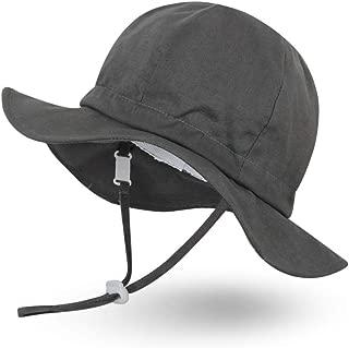 Unisex Child Adjustable Wide Brim Sun Protection Hat UPF 50 Sunhat for Baby Girl Boy Infant Kids Toddler