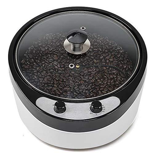 OUYA Elektrischer Multifunktions Kaffeeröster, 1800 W Kaffeebohnenröster, 45 ° -Winkel-Backkorn-Sesam-Röstmaschine,220V