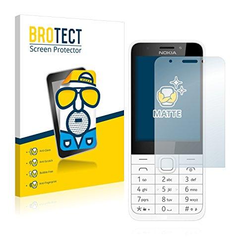 BROTECT 2X Entspiegelungs-Schutzfolie kompatibel mit Nokia 230 Bildschirmschutz-Folie Matt, Anti-Reflex, Anti-Fingerprint