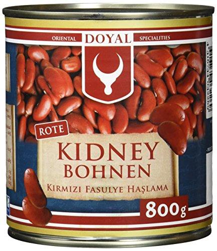 Doyal Rote Kidney-Bohnen, in Lake vorgekocht, 12er Pack (12 x 480 g)