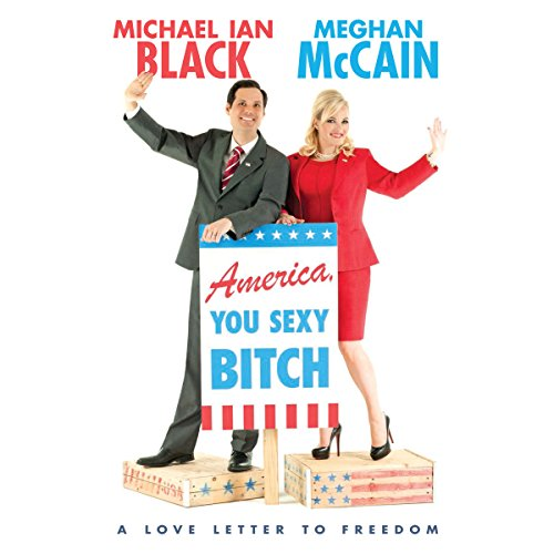 America, You Sexy Bitch audiobook cover art