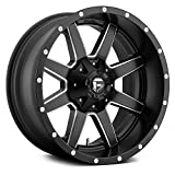 Fuel Offroad D538 Maverick BLACK Wheel with Painted and tpms (20 x 9. inches /8 x 180 mm, 1 mm Offset)