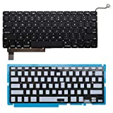 Keyboard Layout Backlight Backlit Button Flex Module Replacement Part for Apple MacBook Pro 15 A1286 2009-2012