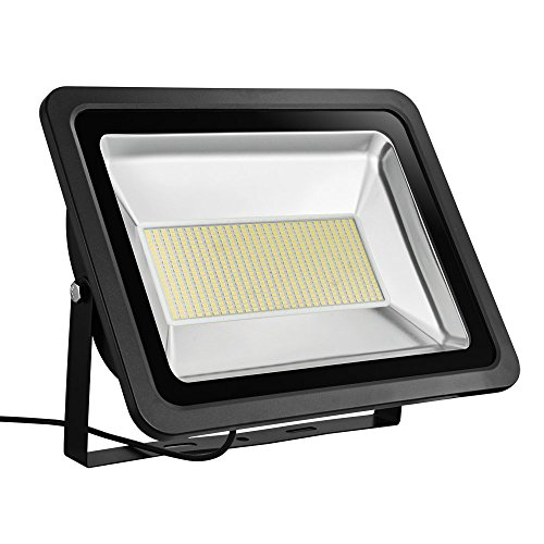 Missbee 150W Led Flood Light,Outdoor Spotlight,Waterproof IP65,2800-3000K,16500lm, Super Bright Security Lights for Garage, Garden, Lawn,Yard and Playground (warm White)