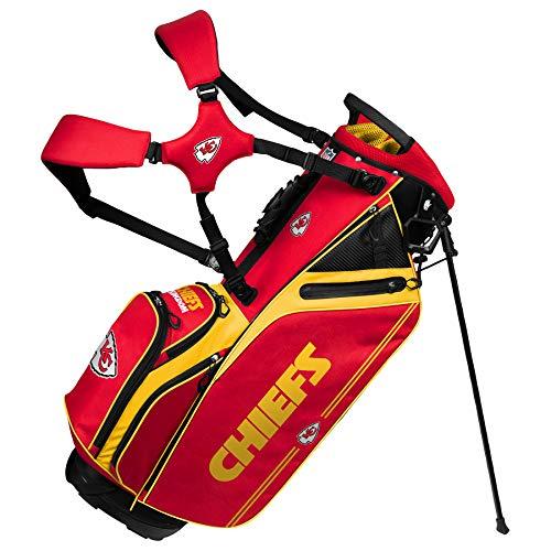 Kansas City Chiefs Caddie Carry Hybrid Golf Bag
