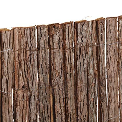 Catral 16020001 Tejido Corteza Pino Doble Cara, Marrón, 500 x 3 x 100 cm