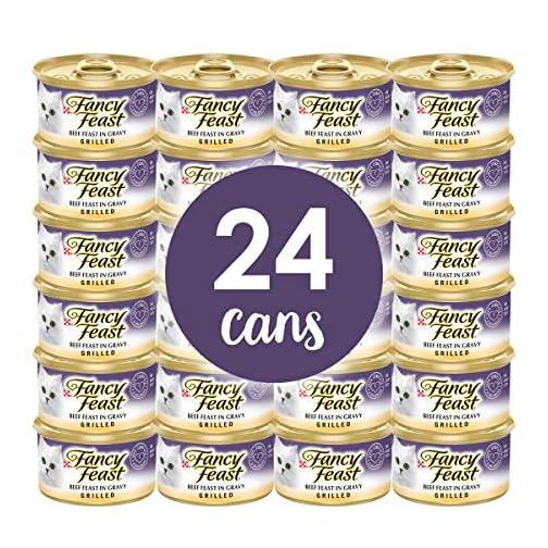 Purina Fancy Feast Grilled Feast in Gravy Canned Wet Cat Food 4