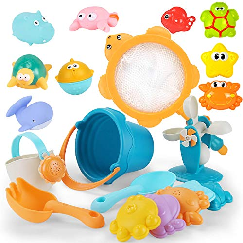 Juguetes de arenero Play Sand Water Juguetes de playa para niños Juego de bebé Caja de arena Carro de mesa de agua Red de pesca Tortuga Arenero Juguetes de baño de verano