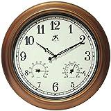Best Outdoor Clocks - Infinity Instruments Craftsman 18 inch Copper Petina Outdoor Review