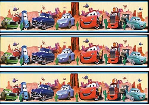 Fondant Tortenband Tortenbild Geburtstag Disney's Pixar Cars TB1