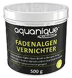 AQUANIQUE Fadenalgenvernichter 500 g, für Teiche, Hilft gegen Algen im Teich, klares Wasser