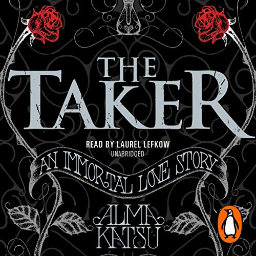 The Taker                   By:                                                                                                                                 Alma Katsu                               Narrated by:                                                                                                                                 Laurel Lefkow                      Length: 14 hrs and 47 mins     20 ratings     Overall 4.1