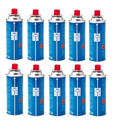 ALTIGASI Prime BOMBOLETTA Gas Kartusche CP250 CP 250 Inhalt 220 g Original CAMPINGAZ - 10 Stück