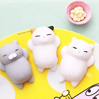 Anniston Kids Toys, Cute Cat Relieve Stress Squeeze Healing Toy Adult Kid Gift Decoration Stress Relief Toys Perfect Fun T...