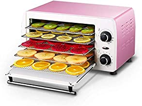 Un sèche-alimentaire, machine de séchage de fruits minuterie automatique Séché 48~78 ° C température réglage 5 compartimen...