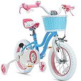 Royalbaby Stargirl Girls Bike with Training Wheels...