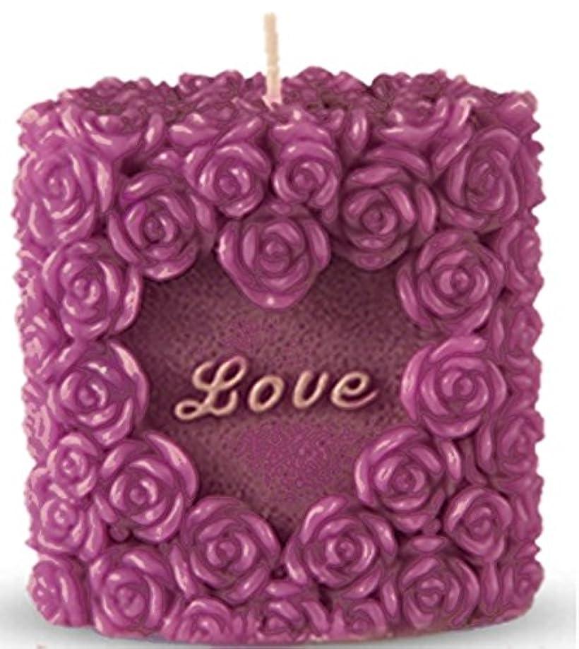 体操選手はず選択(Valentine Package) - Romantic Love Candle, Rose Design, Smokeless, Elegant, Non-Drip, Fragrant, Rosy and Premium Quality Perfect for Weddings,Romantic Meetings and Dates