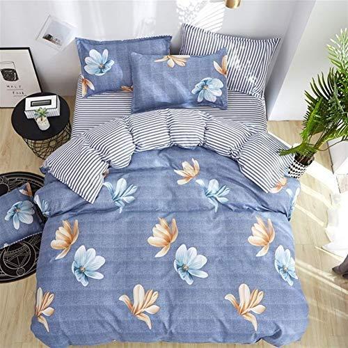 Cvthfyky Literie Feuille Taie Bandes onduleuses Maison Textile Couvre-lit de Maison de Mode LITERIE de Haute qualité (Couleur : 11, Size : 2 Pillowcase)