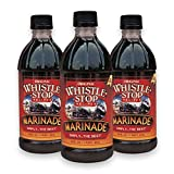 Original WhistleStop Cafe Recipes | Premium Marinade | 16-oz. Bottles | 3 Pack