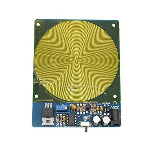 Semoic DC 5 V 7,83 Hz Pr?Zision Schumann Resonanz Ultra-Nieder Frequenz Puls Wellen Generator Audio Resonator mit Kasten Fertiger Platine
