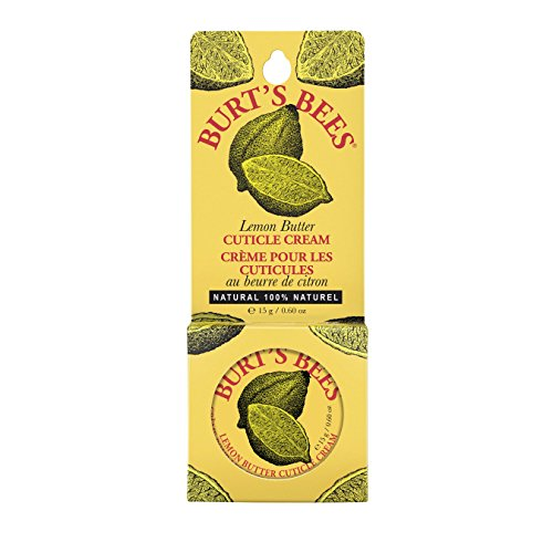 Burt's Bees 100% Natural Lemon Butter Cuticle Cream - 0.6 Ounce Tin (Pack of 6)
