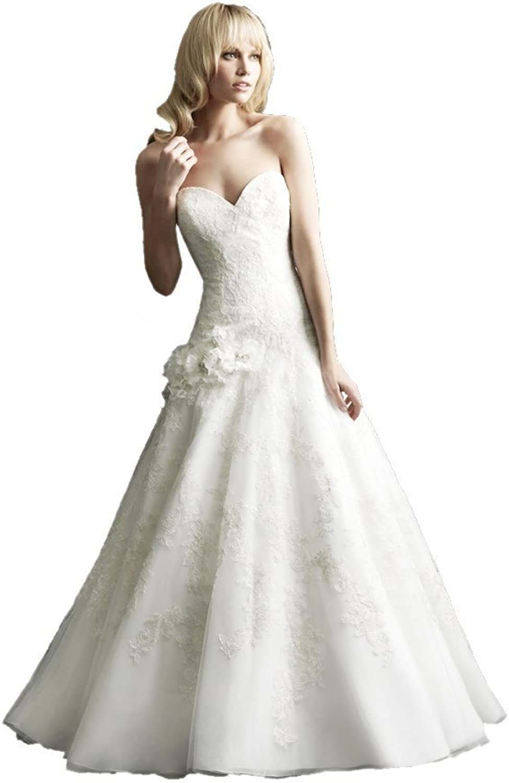 Passat Chapel Train Wedding Dresses