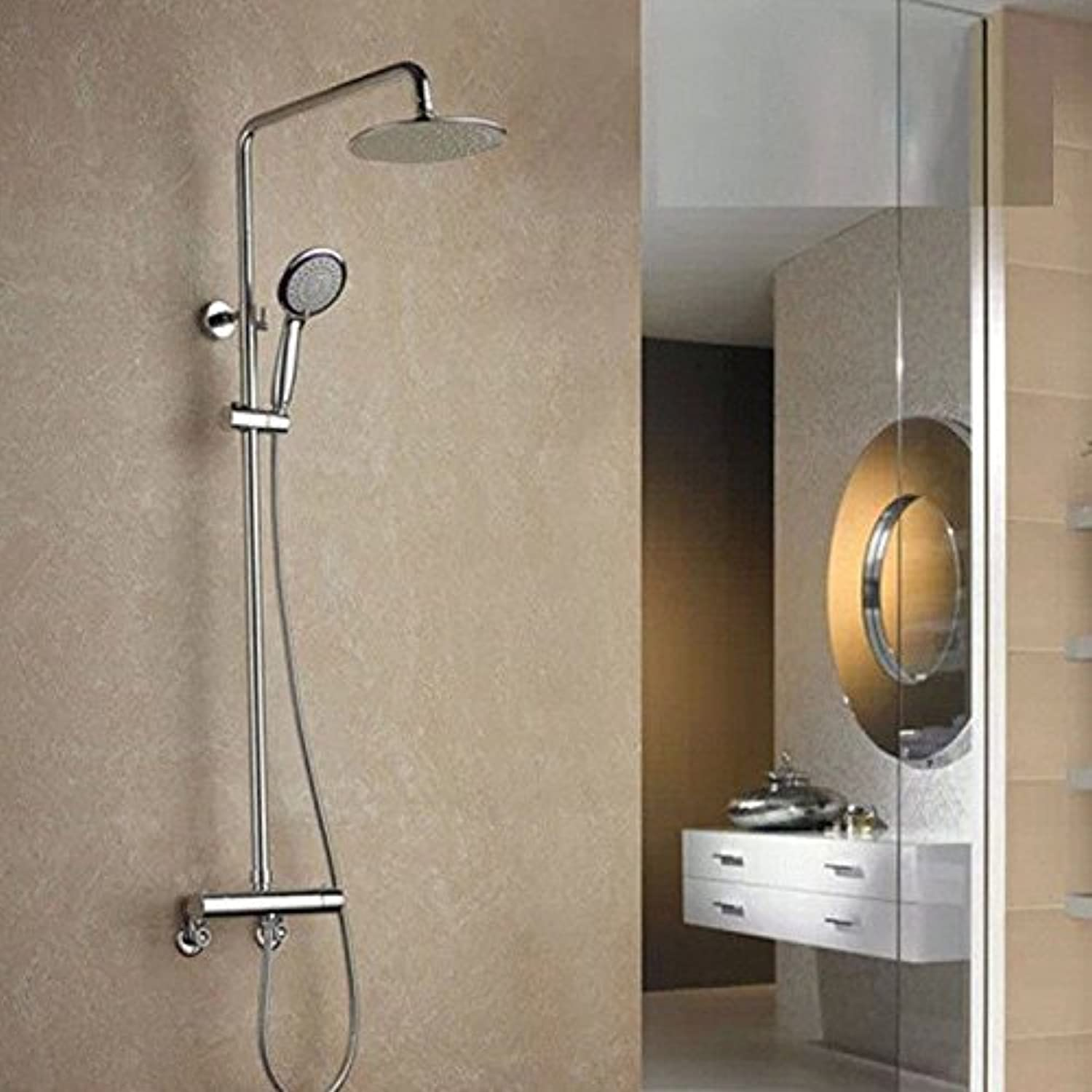 Lalaky Taps Faucet Kitchen Mixer Sink Waterfall Bathroom Mixer Basin Mixer Tap for Kitchen Bathroom and Washroom 38 Degree Thermostatic Shower