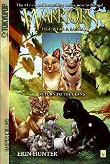 Warriors: Tigerstar and Sasha #3: Return to the Clans (Warriors Manga)