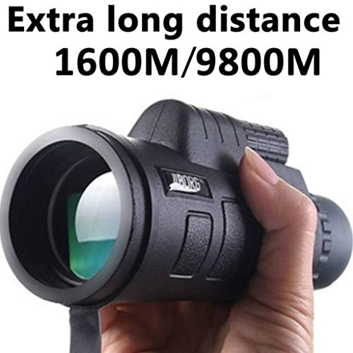 Fullfun Panda Day Vision 40x60 HD Optical Monocular Telescope