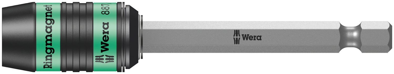 2021 new Wera 05160987001 Rapidaptor Bit-Holder 887 4 Magnet Ring RR with Rare