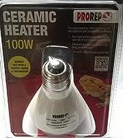 PROREP 100 watt CERAMIC HEAT EMITTER for REPTILES & AMPHIBIANS 5055312309018