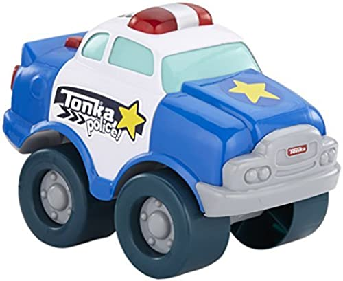 Tonka lumière and Sound Wobble Wtalons Police voiture, bleu by Tonka