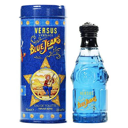 Versace Blue Jeans Eau De Toilette Spray 2.5 oz Male Cologne