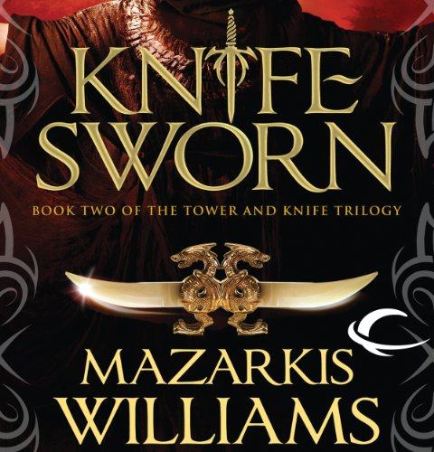 Knife Sworn audiobook cover art