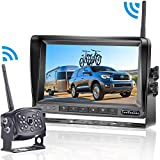 LeeKooLuu HD 960P Digital Wireless Backup Camera with 7''Monitor...
