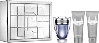 Paco Rabanne Invictus Edt 100ml + 100 Asb + 100ml All Over Shampoo (Tin Box) Set