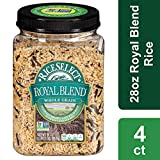 Rice Select Royal Blend, Whole Grain Texmati Brown & Wild Rice with Soft Wheat & Rye Berries, 28 oz...