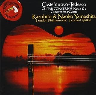 Castelnuovo-Tedesco Guitar Concertos Nos. 1 & 2, Concerto for 2 Guitars by Naoko Yamashita, Kazuhito Yamashita (1990-05-25)