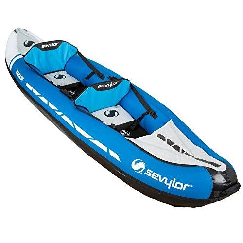 Sevylor - Canoa Hinchable de 2 plazas para Lavado, Azul, Talla única