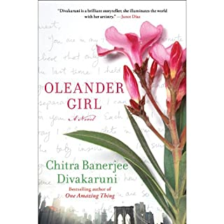 Oleander Girl audiobook cover art